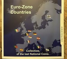 Euro-Zone Countries Collection Of The Last National 12 Coin Set