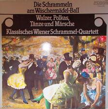 LP Die Schrammeln am Wäschermädel - Ball ,MINT- ,cleaned,Schweiz Pressung Tudor