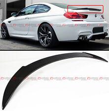 FOR 2012-16 BMW F13 F06 640i 650i M6 V STYLE CARBON FIBER TRUNK SPOILER WING LID