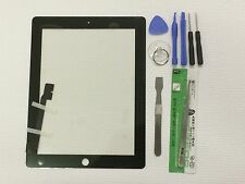 Black Screen Glass Digitizer Replacement for iPad 3 3rd A1403 A1430 A1416 +Tools