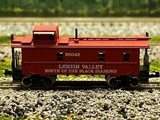 N Scale - Atlas 3568 Lehigh Valley Steel Side Caboose #95042 N2519