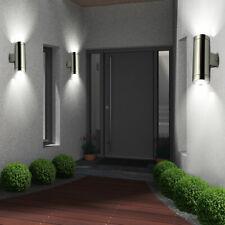 3er Set LED muro esterno lampada in acciaio inox TERRAZZE BALCONE Faretto Lampada Cortile strada
