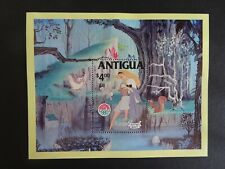 Walt Disney's Sleeping Beauty $4 mini stamp sheet from Antigua UMM