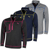 Puma Golf Mens Go Low 1/4 Zip DryCell Wicking Chest Pocket Sweater 48% OFF RRP