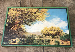"""Vintage Park Ridge Picture Puzzle """"Branches Of Gold"""" Warren Paper USA Sealed"""