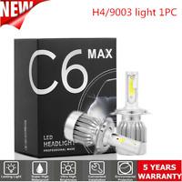 H4/HB2/9003 LED Headlight Conversion Kit 1800W 350000LM HI-LO Beam Bulbs 6000K C