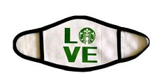 LOVE Square Starbucks Face Mask ***FREE SHIPPING***