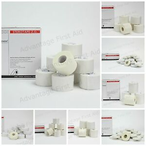 Zinc Oxide Strapping Tape. Sports Binding Tape for Immobilisation of Joints.