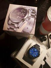 ♡♡Michael Kors Access Blue Grayson IP Touchscreen Bracelet Smart Watch♡♡