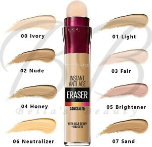MAYBELLINE Instant Anti-Age Eraser Under Eye Lightweight Concealer *ALL SHADES*