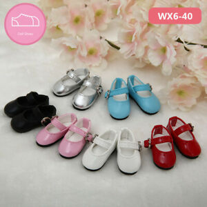 New Colorful PU Shoes For 1/6 BJD Doll SD Doll WX6-40