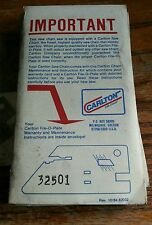 Carlton File-O-Plate 32501. 325 pitch chain File Guide/Depth Gauge Tool NOS