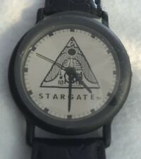 HTF 1994 Stargate Watch - MIRROR LOGO DIAL Style in Original Collectors Tin, NEW