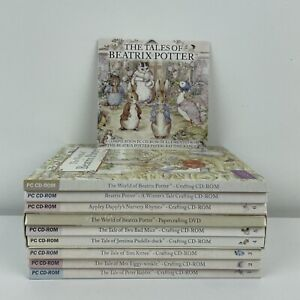 Crafters Companion Beatrix Potter CD ROM Papercrafting Peter Rabbit & Friends