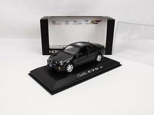 Cadillac CTS-V (2004-2007) noire 1/43 Norev