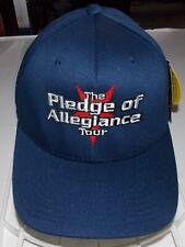 POA Pledge of Allegiance- NEW 2001 Tour Hat / Cap- L/XL FREE SHIP TO U.S.!