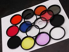 +Set of 15 55mm Assorted Creative FX Filters SLR DSLR Film Digital