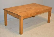 Large Coffee Table Solid Oak Wood Rustic Vintage IKEA Delivery Available
