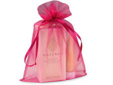 4 Sheer Hot Pink Organza Satin 8x11 Gift Bags Shower Gifts Delicates Storage