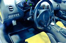 Lamborghini Aventador, Murcielago, Gallardo Leather and Carbon Fiber Floor Mats
