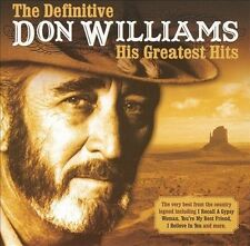 The Definitive Don Williams: His Greatest Hits by Don Williams (CD, Apr-2006, Universal Music TV (UK))