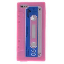 Coque housse étui cassette K7 rétro iPhone 5 Rose