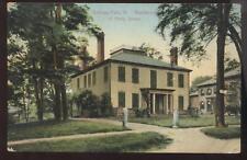 Postcard BELLOWS FALLS, VT Hetty Green House 1907 ?