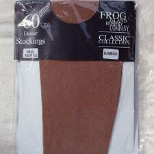 FROG ISLAND 60 denier Opaque Stockings - BAMBOO Small (Shoe 3-4)