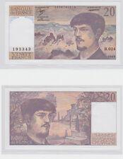 GERTBROLEN  20 FRANCS ( DEBUSSY ) de 1989  B.024 Billet N°  0576193343