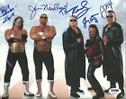 Bret & Jimmy Hart Foundation & The Nasty Boys Signed 8x10 Photo PSA/DNA COA WWE