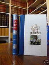 GRANDES ENIGMES DE LA RESISTANCE MICHAL 3 volumes