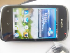 """Huawei Ascend Y M866 (alltel)  Android 3.5"""" SmartPhone prepaid CDMA not activate"""