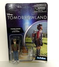 """Walt Disney TOMORROWLAND YOUNG FRANK POSEABLE 3 3/4 """" ACTION FIGURE TOY NEW Pack"""
