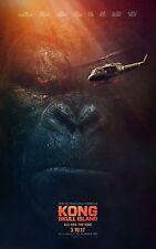 Kong: Skull Island Movie Poster (24x36) - Brie Larson, Tom Hiddleston v2