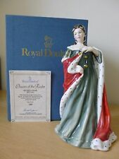 Royal Doulton Queen Anne HN3141 Queens of the Realm - Boxed & Certificate
