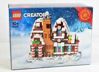 LEGO 40337 Gingerbread House, Casa Pan de Hengibre, Exclusive Box NIB Limited