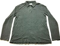 Armani Exchange Mens Gray Long Sleeve Sweater Size XL