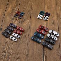 Model Car Vehicles Train Scenery Track Layout Accessories Scale Diorama 10pcs