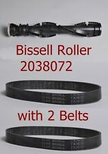Genuine Bissell Roller Brush 203-8072 PowerForce Helix 12B1, 1240 with 2 belts