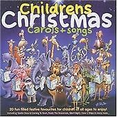 Childrens Christmas Carols + Songs, Various Artists, Excellent CD