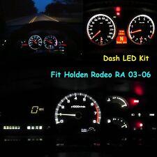 Car Dashboard LED Kit Gauge Indicator Panel Bulb White For Holden Rodeo RA 03-06