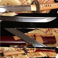 "41"" 1095 Carbon Steel Clay Tempered Japanese Samurai Katana Full Tang Very Sharp"