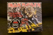 Iron Maiden THE NUMBER OF THE BEAST (DELUXE) +Figurine & Patch NEW SEALED CD