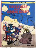 Spirou und Fantasio 8. Tiefschlaf für die ganze Stadt. Carlsen Comics. Franquin