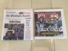 Villanova Wildcats 2018 NCAA Philadelphia Inquirer Daily News 4-6-18 Newspaper