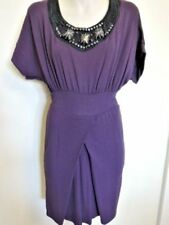 Any Occasion Solid Dresses for Women with Knit