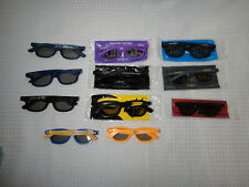 Movie Theater Collectable 3D Glasses Collection Lot of 11 Hobbit Transformers