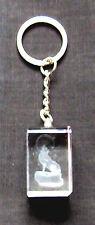 Schlüsselanhänger Wolf mit Schlüsselring Polarwolf Schakal Timberwolf Key chain
