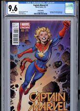 Captain Marvel #3. Arthur Adams Variant, CGC 9.6 WP