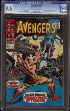 Avengers # 39 CGC 9.6 OW/W (Marvel, 1967) Hercules appearance and cover